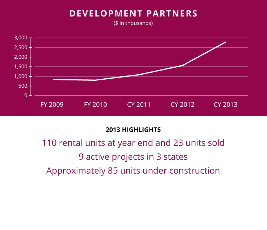 TRF2013-Financials-Summary-Revenues-Development-Partners